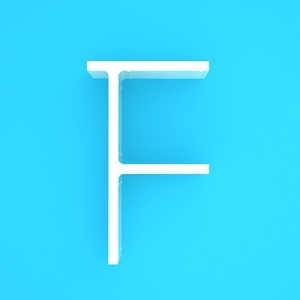 [나무자전거]디자인가구[cubics] 큐빅스2 벽선반 이니셜-F
