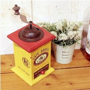 [나무자전거] 장식소품 [hg] Cafe 옐로우 커피머신