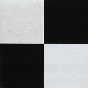 [나무자전거]점착식 바닥 데코타일 블랙앤화이트 (F274-5012)